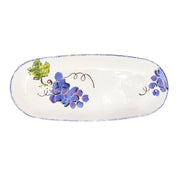 Grape Narrow Oval Platter by VIETRI