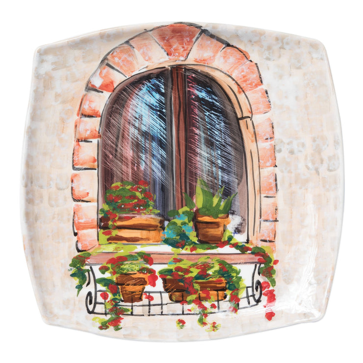 Landscape Wall Plates Closed Window Wall Plate by VIETRI