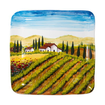 Wall Plates Tuscany Large Square Wall Plate by VIETRI