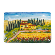 Wall Plates Tuscany Rectangular Wall Plate by VIETRI