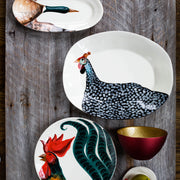 Wildlife Mallard Narrow Oval Platter