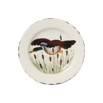Wildlife Mallard Salad Plate by VIETRI