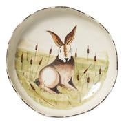Wildlife Hare Shallow Serving Bowl by VIETRI