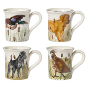 Wildlife Assorted Mugs - Set of 4 by VIETRI