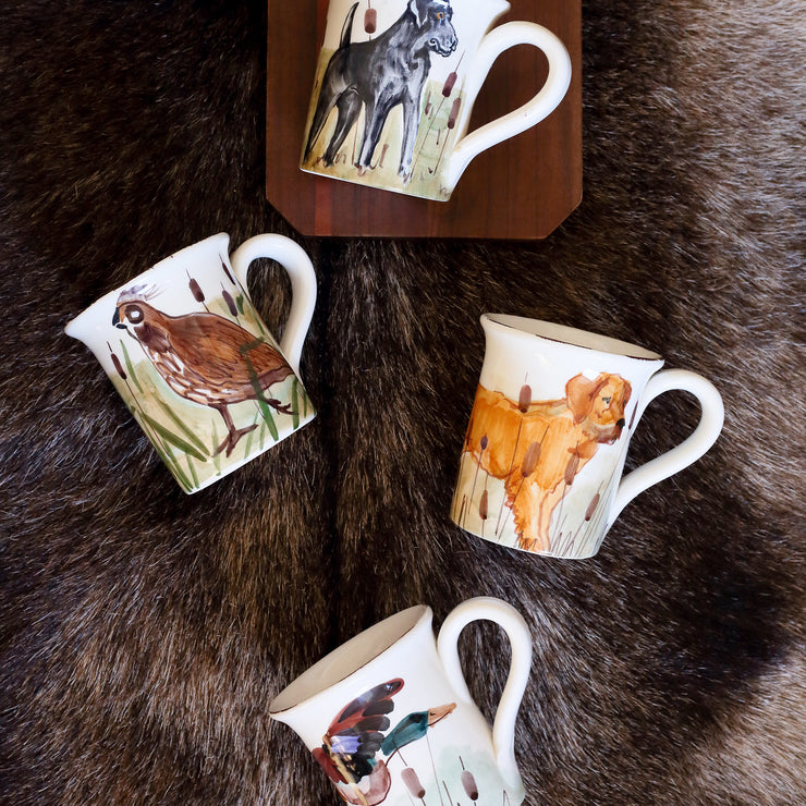 Wildlife Hunting Dog Mug