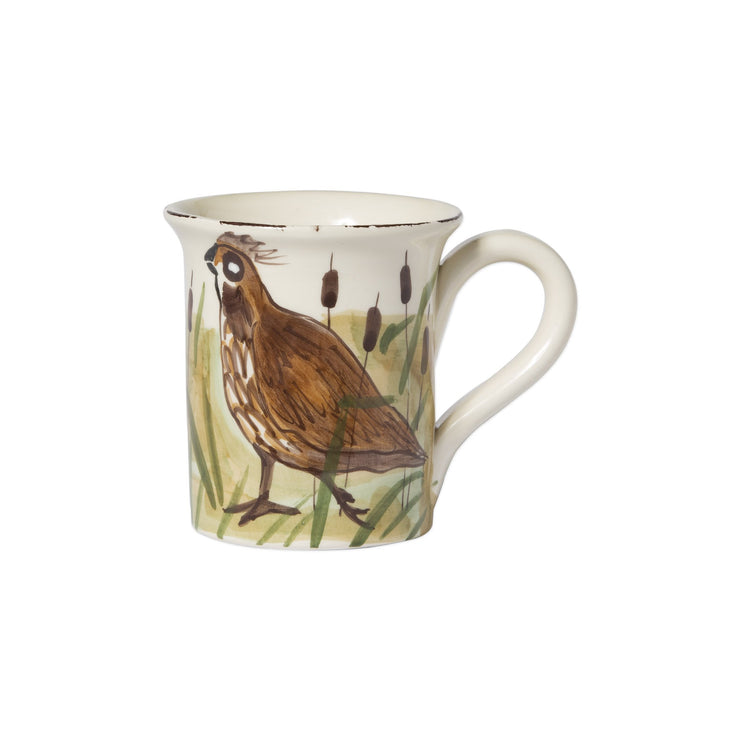 Wildlife Quail Mug by VIETRI