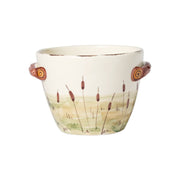 Wildlife Deer Handled Deep Serving Bowl by VIETRI