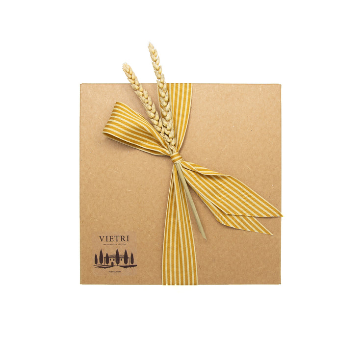 Gift Wrap: Yellow & Cream Striped Ribbon