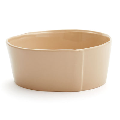 Lastra Cappuccino Medium Serving Bowl