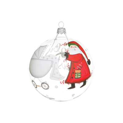 Old St. Nick Baby's First Christmas Ornament