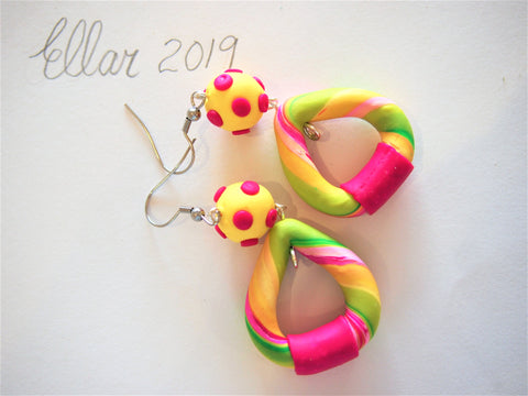Summer Glamour Fashion Earrings by Ellar
