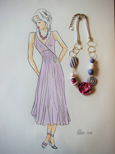 Necklace for Sass and Bide Dress by Ellar Roos