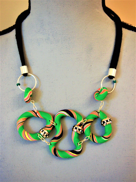 Tasmanian Green Necklace by Ellar