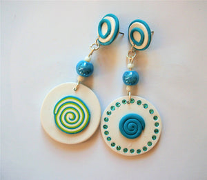 Pinwheel Glamor Earrings by Ellar