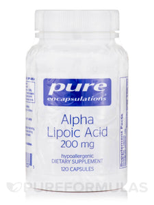 Alpha Lipoic Acid 200mg 120ct