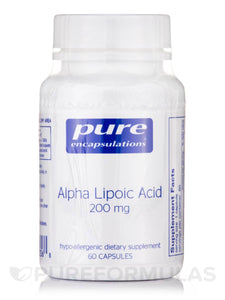 Alpha Lipoic Acid 200mg 60ct
