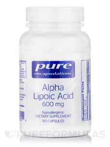 Alpha Lipoic Acid 600mg 60ct