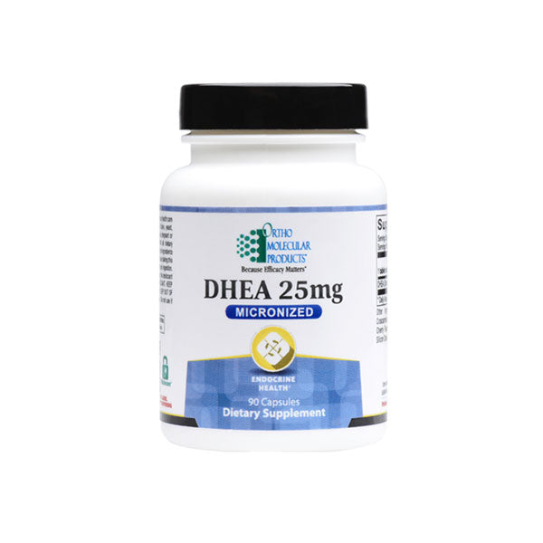 Ortho Molecular DHEA 25mg 90ct