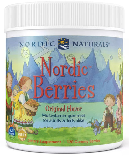 Nordic Berries Gummies 120ct