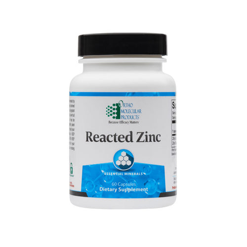 Ortho Molecular Reacted Zinc 60ct