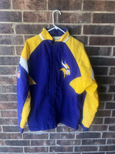 Load image into Gallery viewer, Minnesota Vikings Windbreaker Jacket