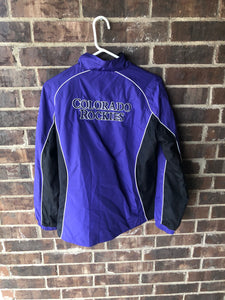 Colorado Rockies Windbreaker Jacket