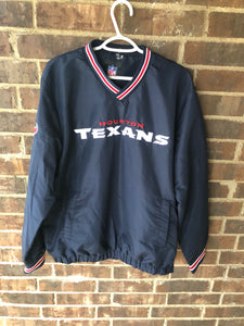Houston Texans Windbreaker Crewneck