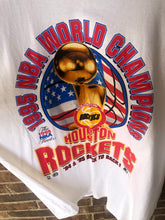 Load image into Gallery viewer, 95' Houston Rockets Finals Champs Tee