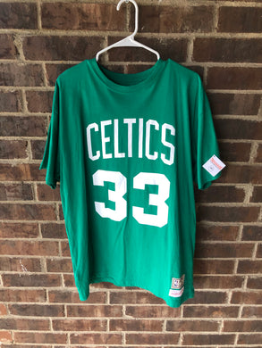 Larry Bird Mitchell & Ness Tee
