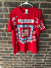 Load image into Gallery viewer, Single Stitched America Is Beautiful Tee