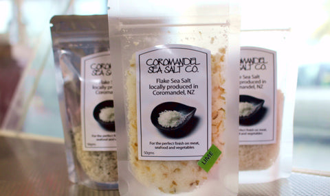 Coromandel Sea Salt - Lime infused