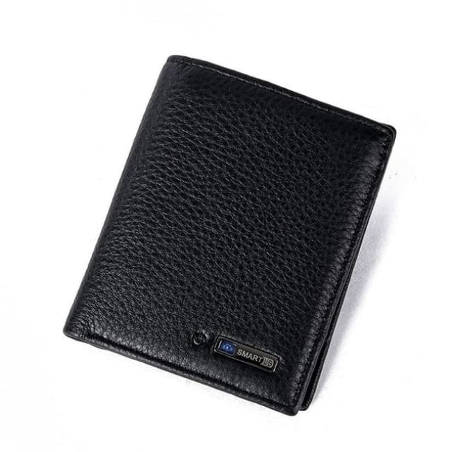Bluetooth Smart Wallet - Vertical-Black