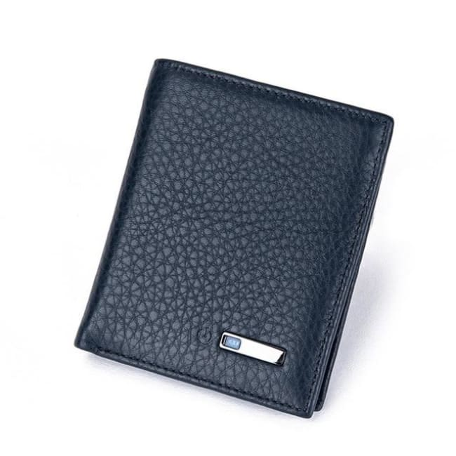 Bluetooth Smart Wallet - Vertical-Blue