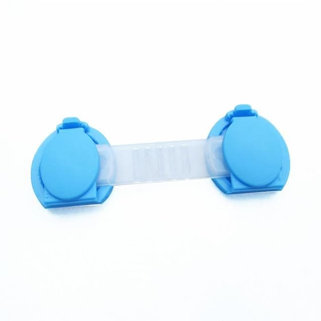 Child Safety Lock (10 Pieces/set) - Blue 10Cm