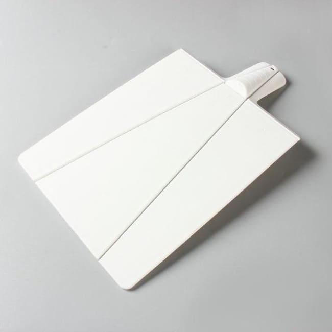 Foldable Cutting Board - White