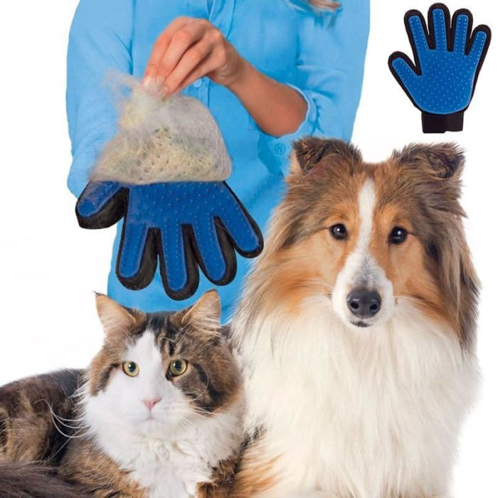 Pet Fur Remover Brush Glove