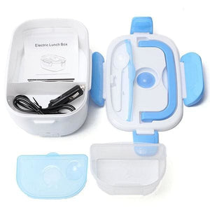 LunchBoxr Electric Portable Food Heater - Blue / Car adapter - 200249142