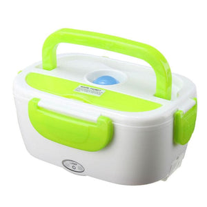 LunchBoxr Electric Portable Food Heater - Green / Car adapter - 200249142