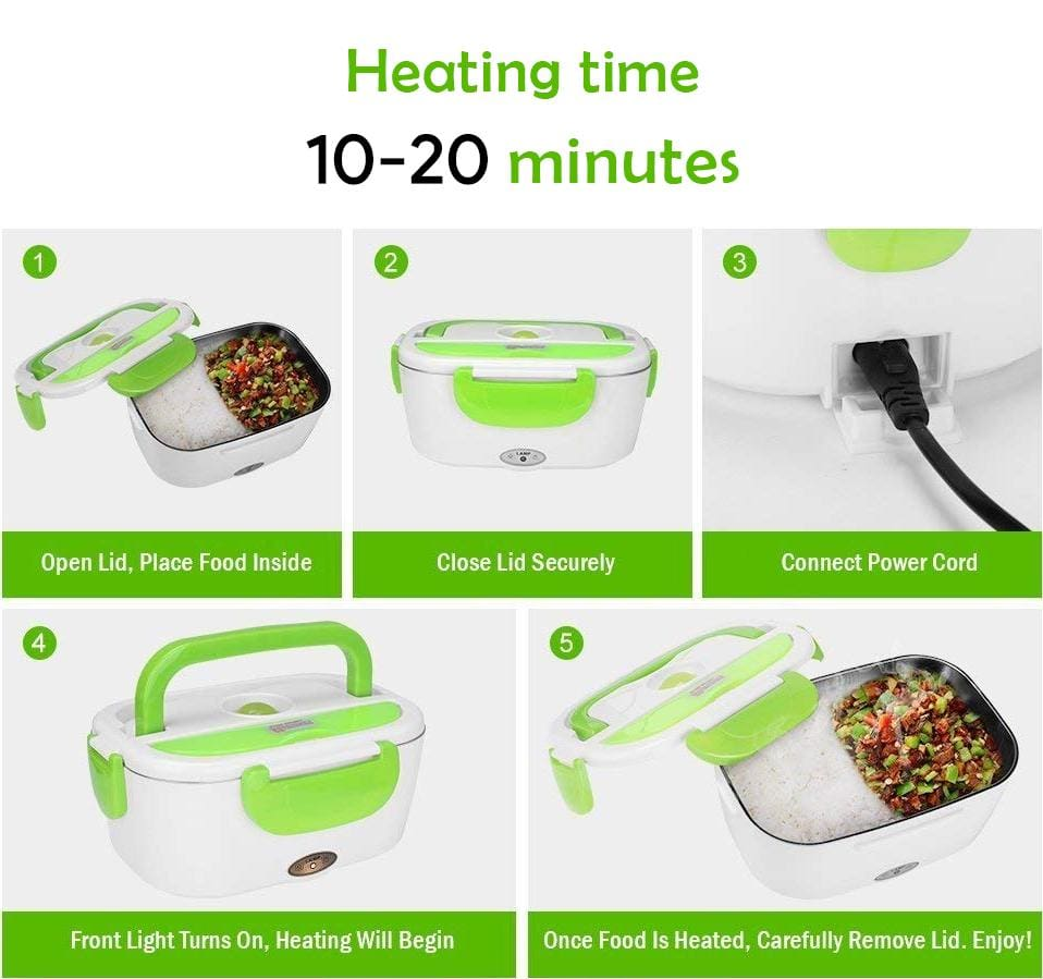 LunchBoxr Electric Portable Food Heater