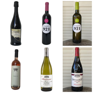 Labor Day 6 bottle Variety Pack for $90 w/tax included.