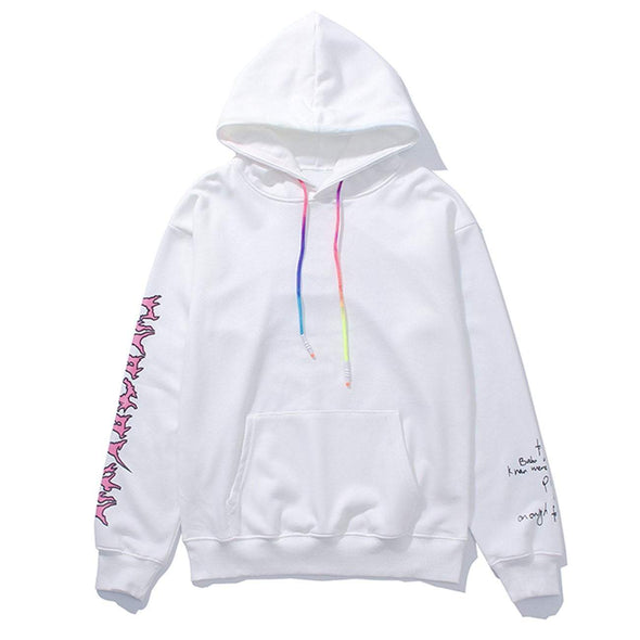 "NEV ""Smoking Girl"" Hoodies"