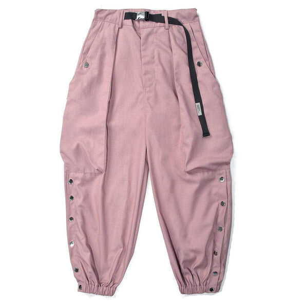 NEV Cargo Side Multi-button Pants