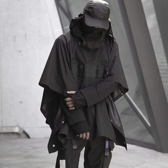 NEV Techwear Ninja Cape