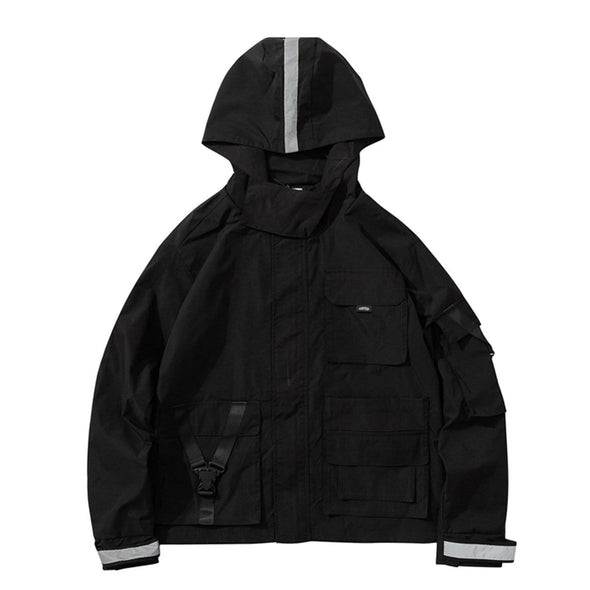 NEV Retro Hooded Workwear Jacket