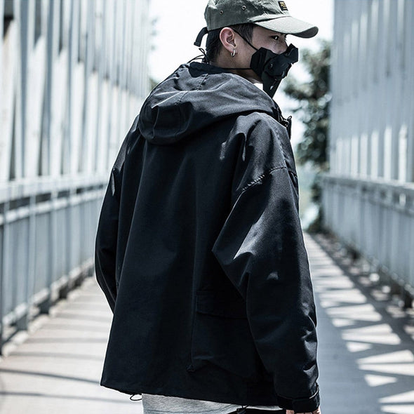 "NEV ""Functional wind"" Hooded jacket"