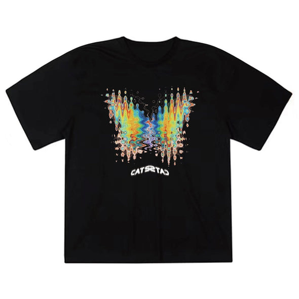 NEV Thermal Imaging Butterfly Print Cotton Tee