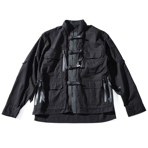 NEV Function Detachable Button Jacket