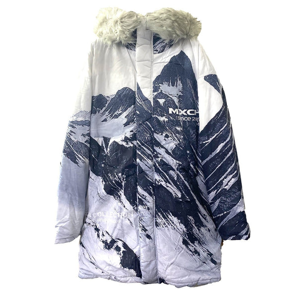 NEV Snow Mountain White Goose Down Winter Coat