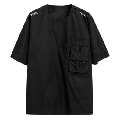 NEV Function Dark Cargo Pockets Tee