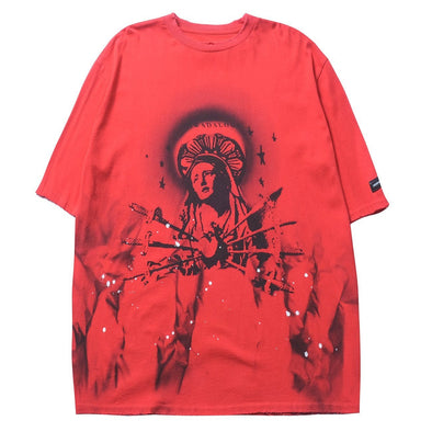 NEV Hand Painted Virgin Cotton Tee